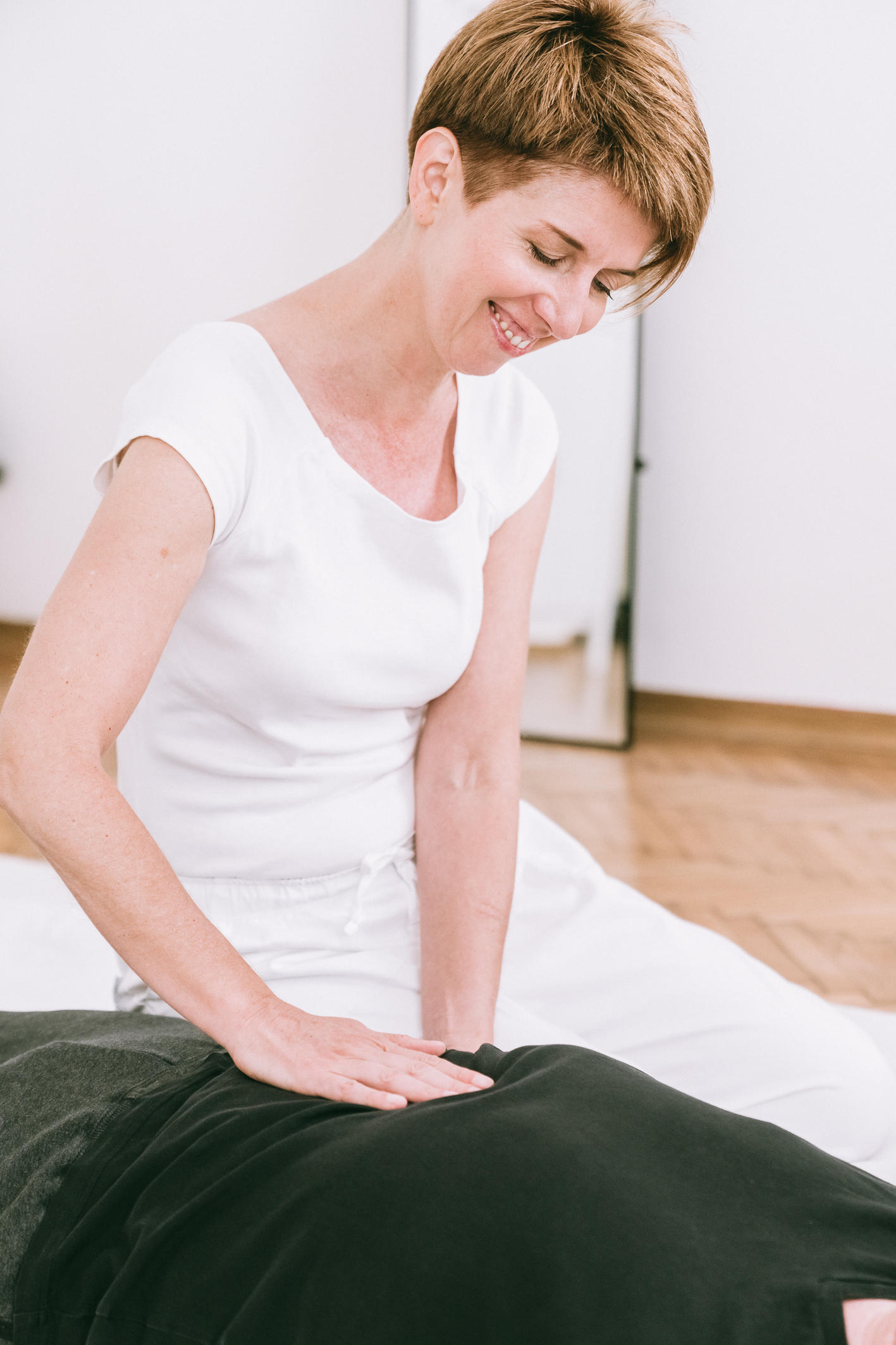 Monika Sperber, Shiatsu therapist