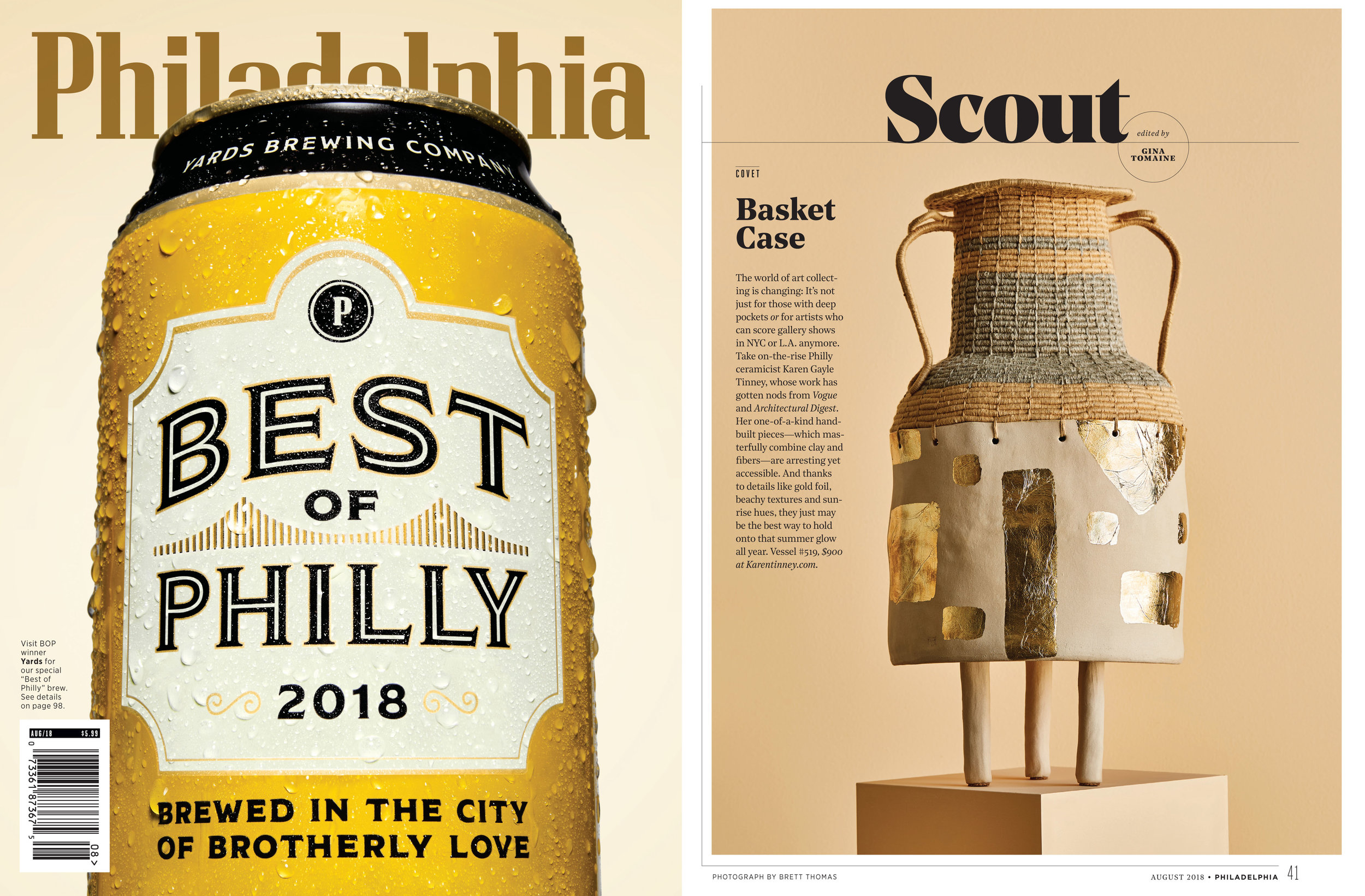 Philadelphia Magazine - August 2018