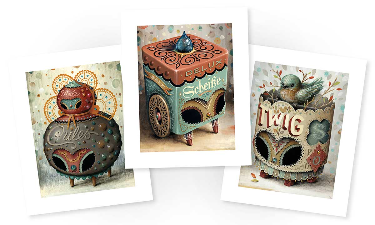 """Fine Art Prints of  Twig , Molecules and  Delux   Each 6"""" x 8"""" (8"""" x 10"""" with border) Signed and Numbered edition of 40 Canon Lucia Archival Inks,Hahnemuhle Photo Rag, 21 mil, 308 g/m² $20 each or all three in set for $50, plus shipping"""
