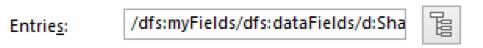 InfoPath filter field