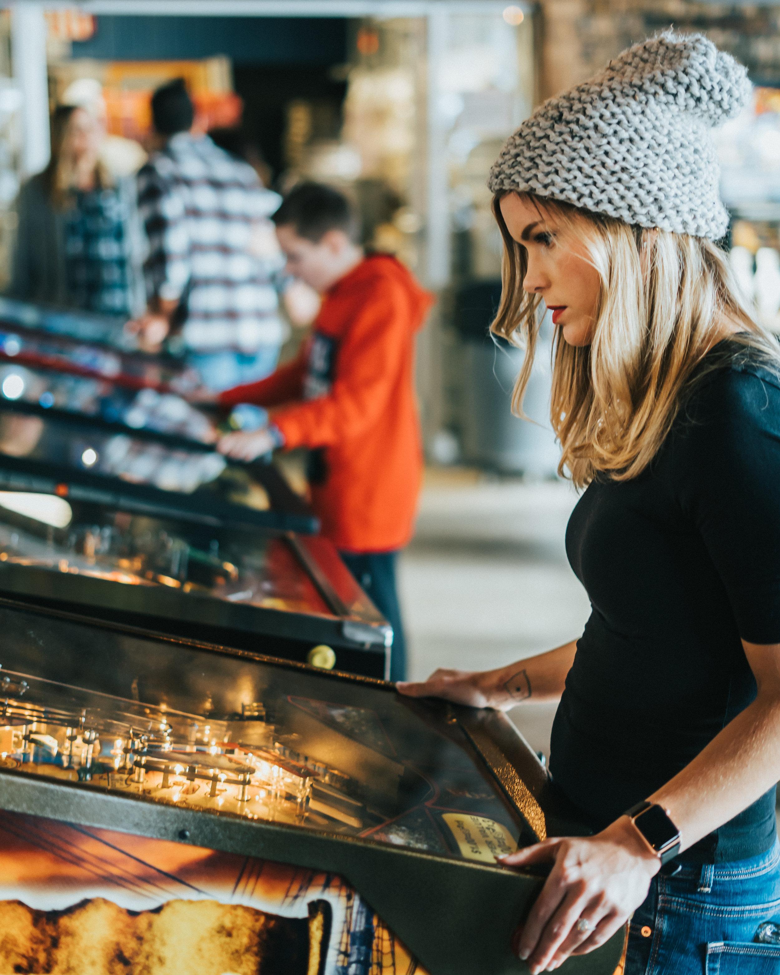 PARTNERSHIP WITH A PIRATES LIFE PINBALL - 7 pinball machines, ball bowlers, puck bowler, skee-ball, and more…