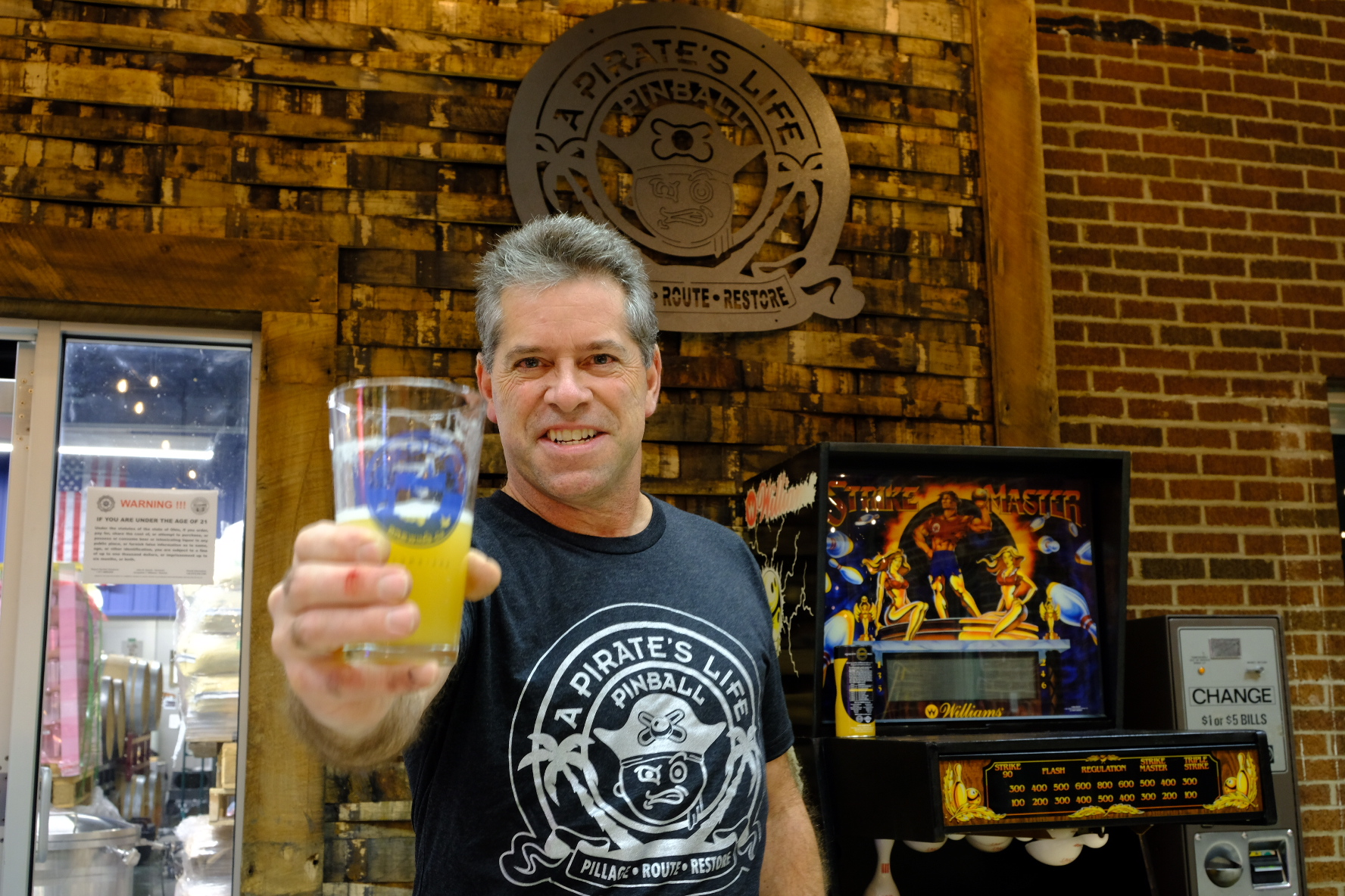 "PILLAGE, ROUTE, RESTORE - We partnered with Keith ""The Pirate"" Campanelli of A Pirates Life Pinball to bring you some something different to the DOWN LOW"