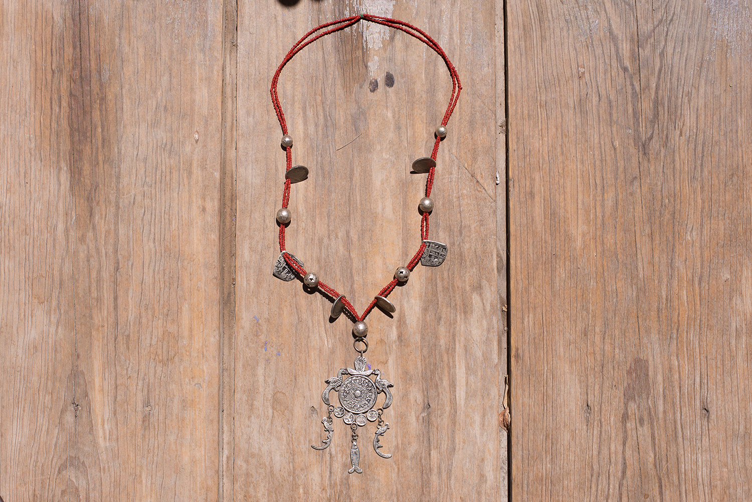 GUATEMALAN MEDALLION NECKLACE   STATUS: AVAILABLE TO ORDER
