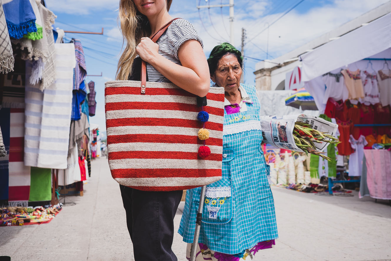MEXICAN STRIPED TOTE   STATUS: AVAILABLE TO ORDER