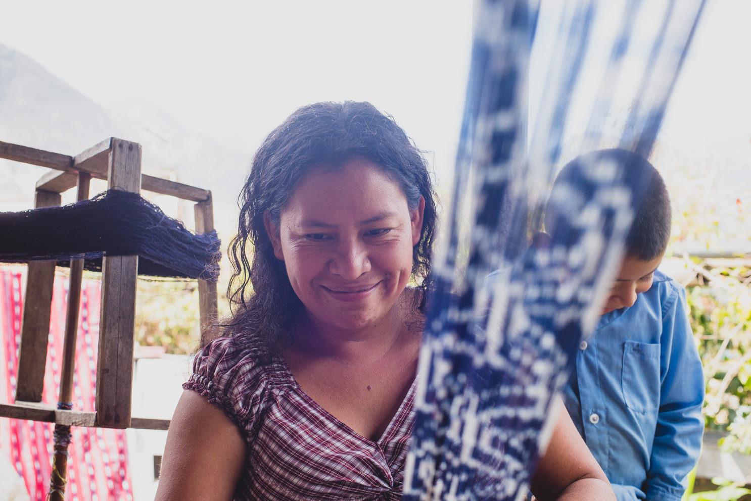 Maria, Backstrap Weaver, San Juan Guatemala