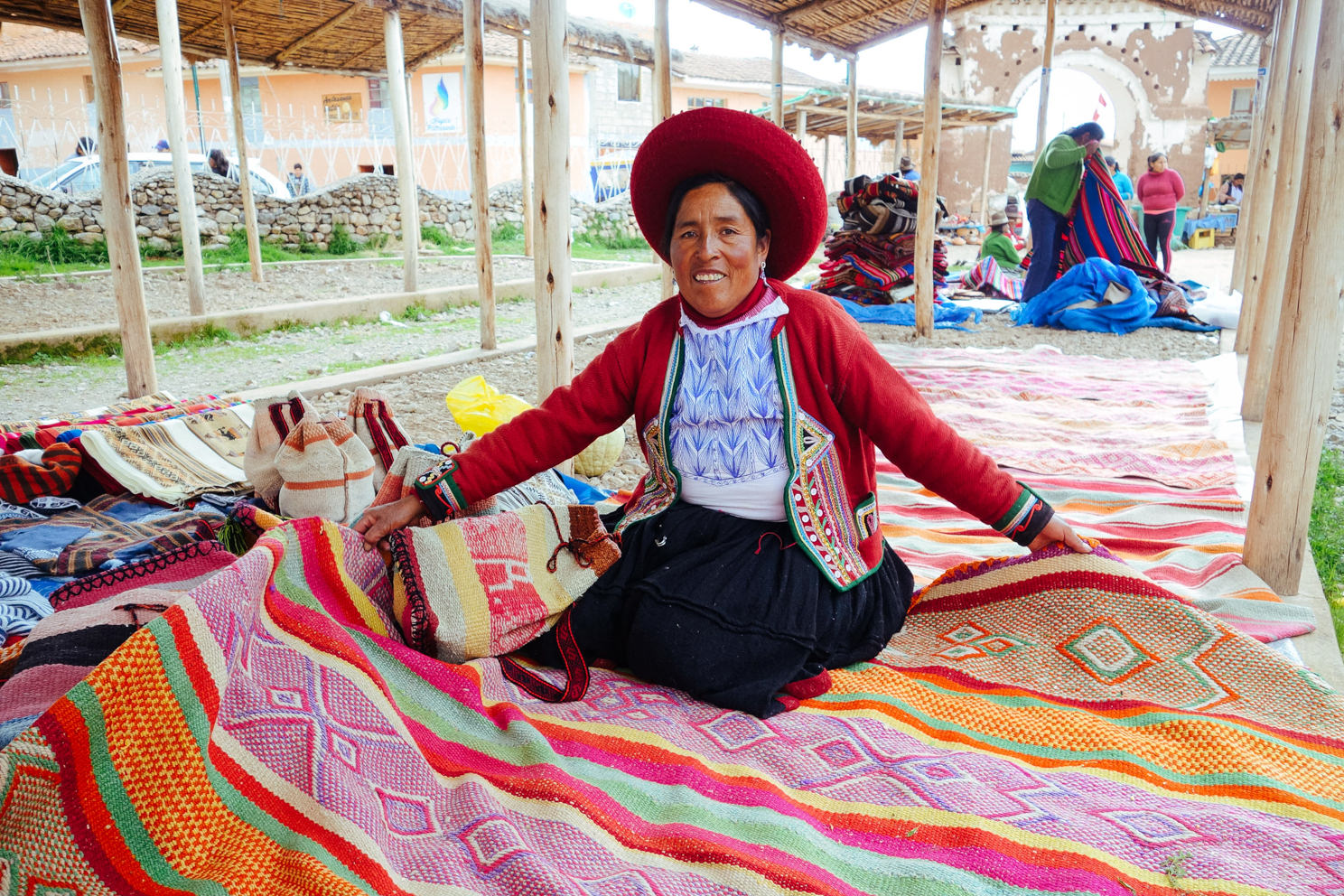 Maria: Frazada Weaver - Sacred Valley, Peru