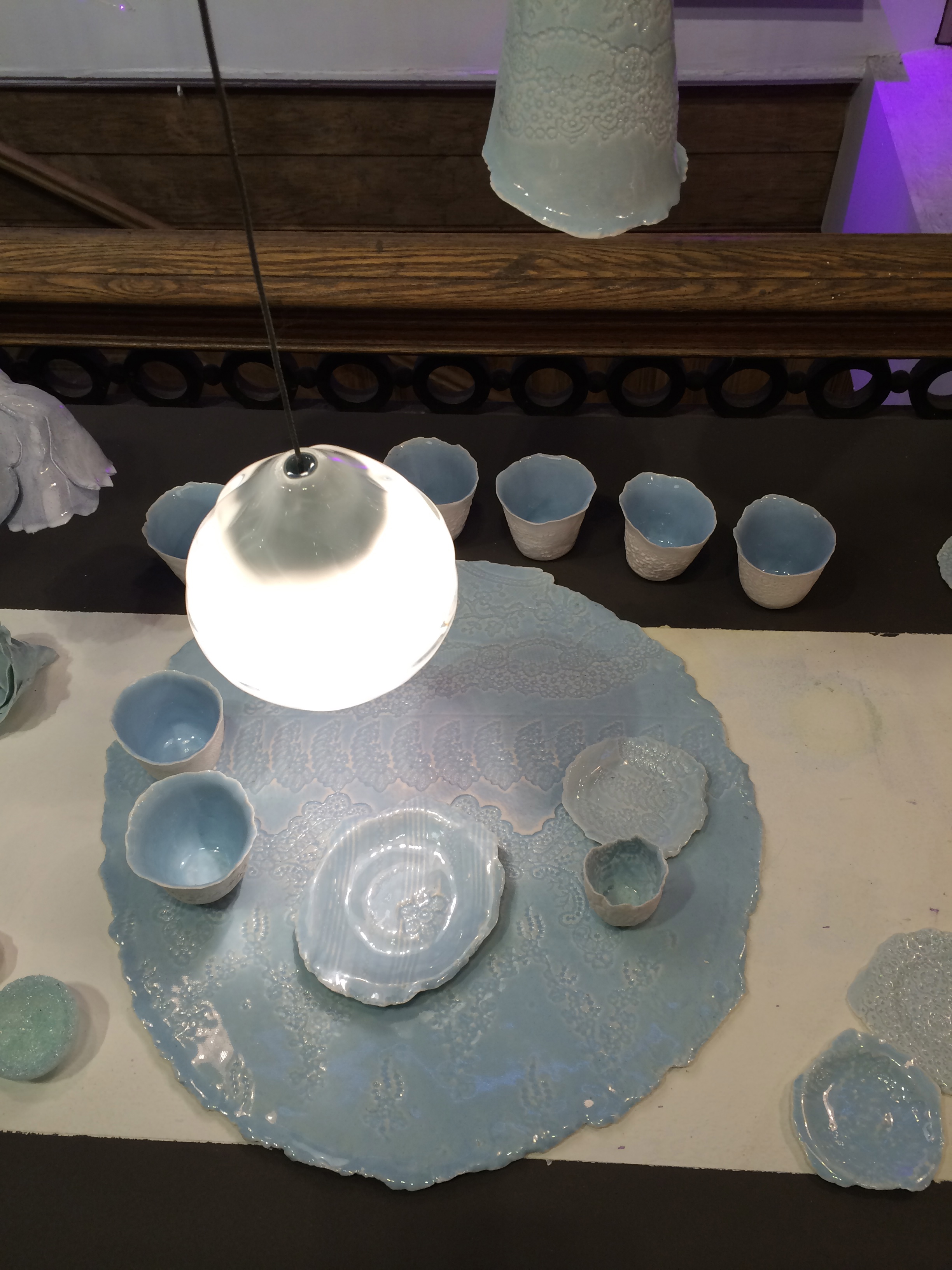 Got inspired by the amazing ceramics at ABC Carpet and Home