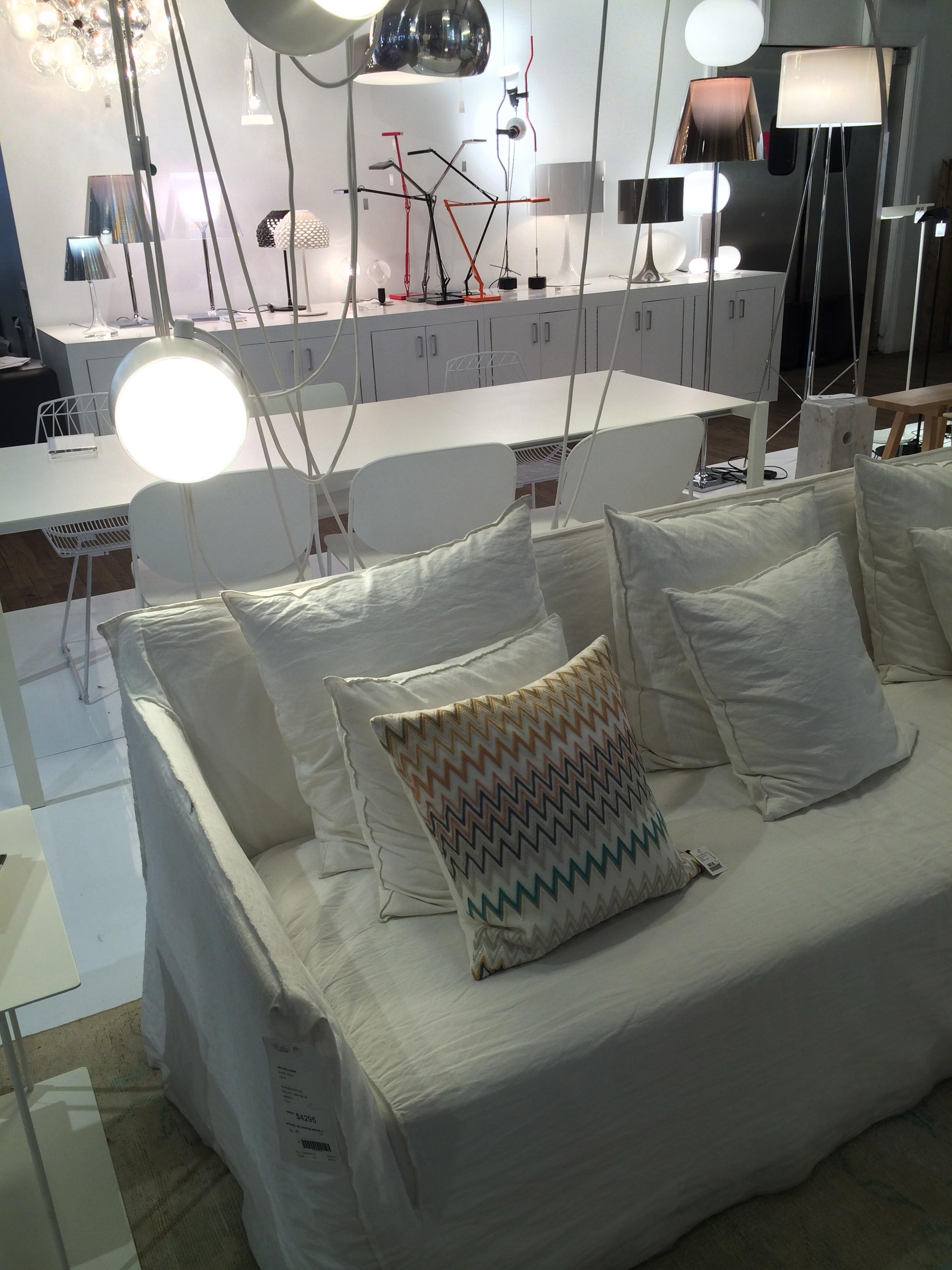 Ghost sofa at ABC