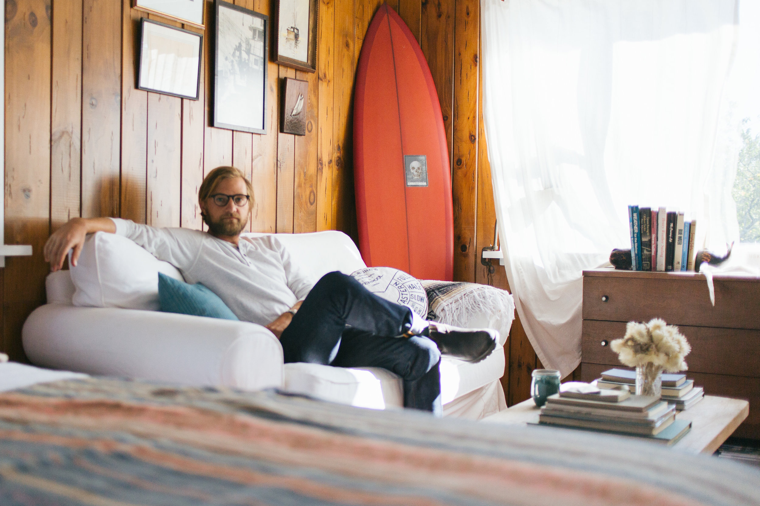 Huckberry Journal  At home with Mikey DeTemple