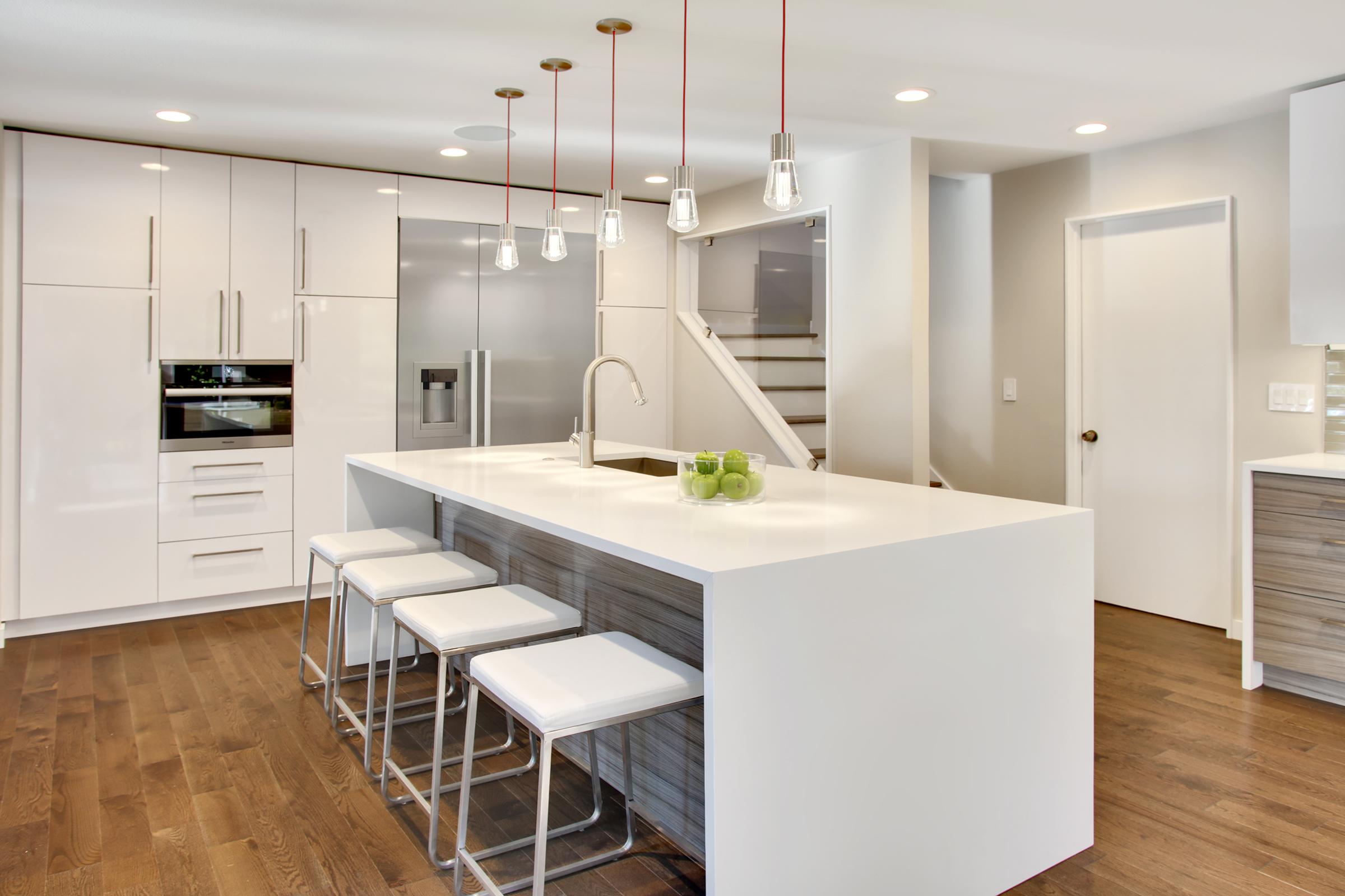 Cottage Lake, Kitchen Design