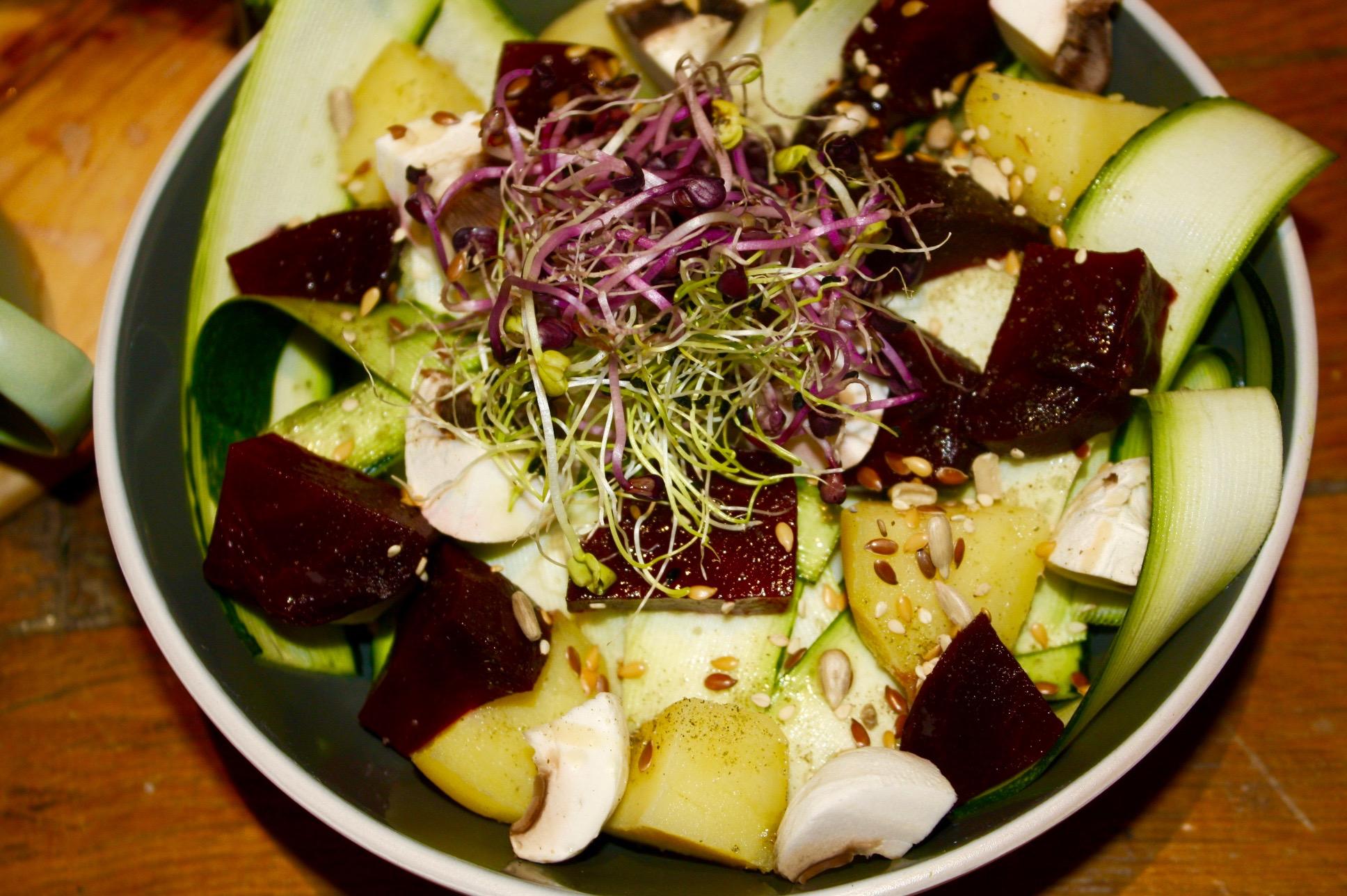Hearty Crunchy Salad