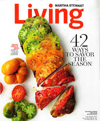 Martha Stewart Living 2012