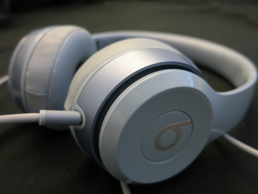 Silver Beats Headphones