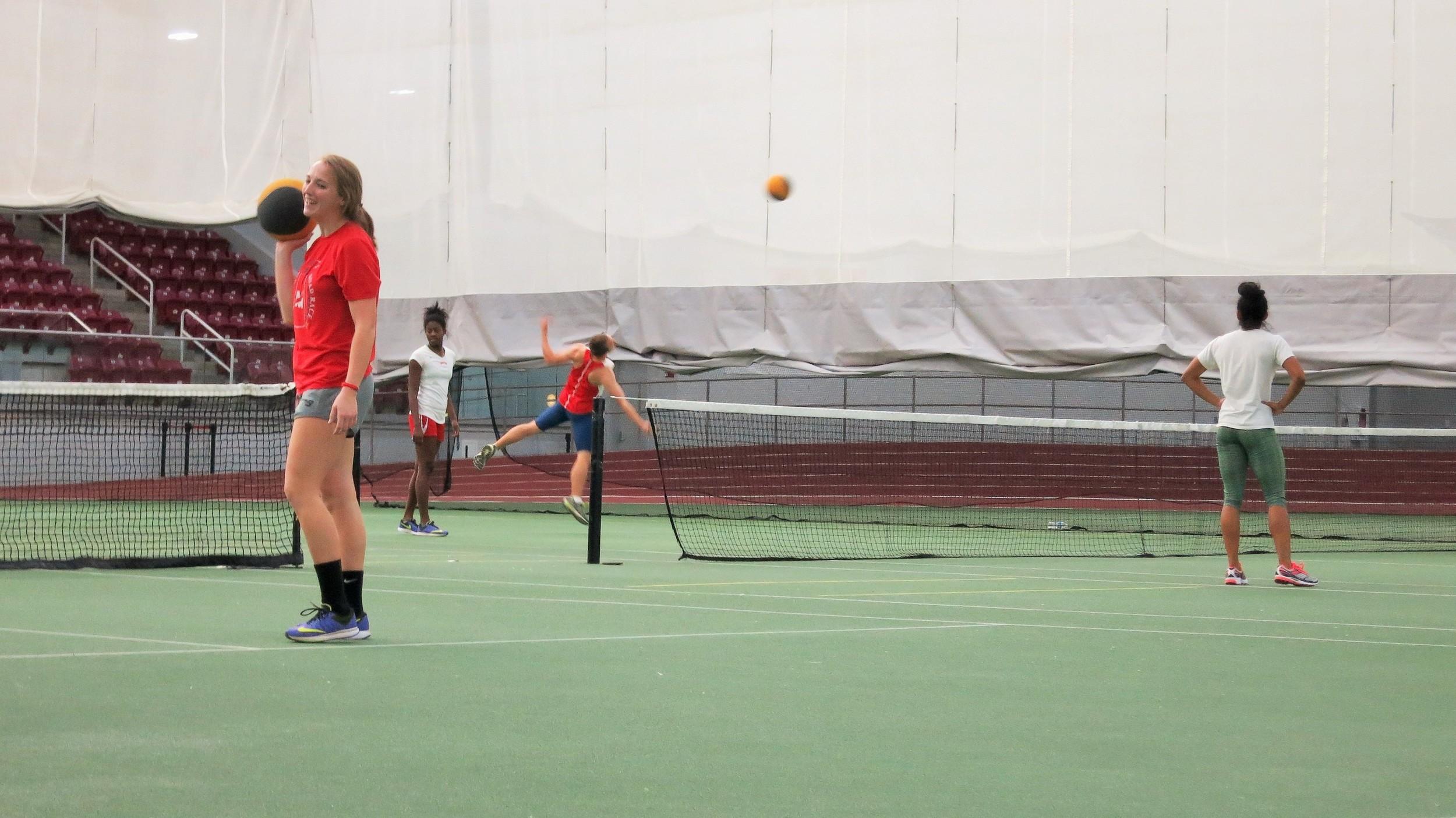 Med Ball Tennis Edit