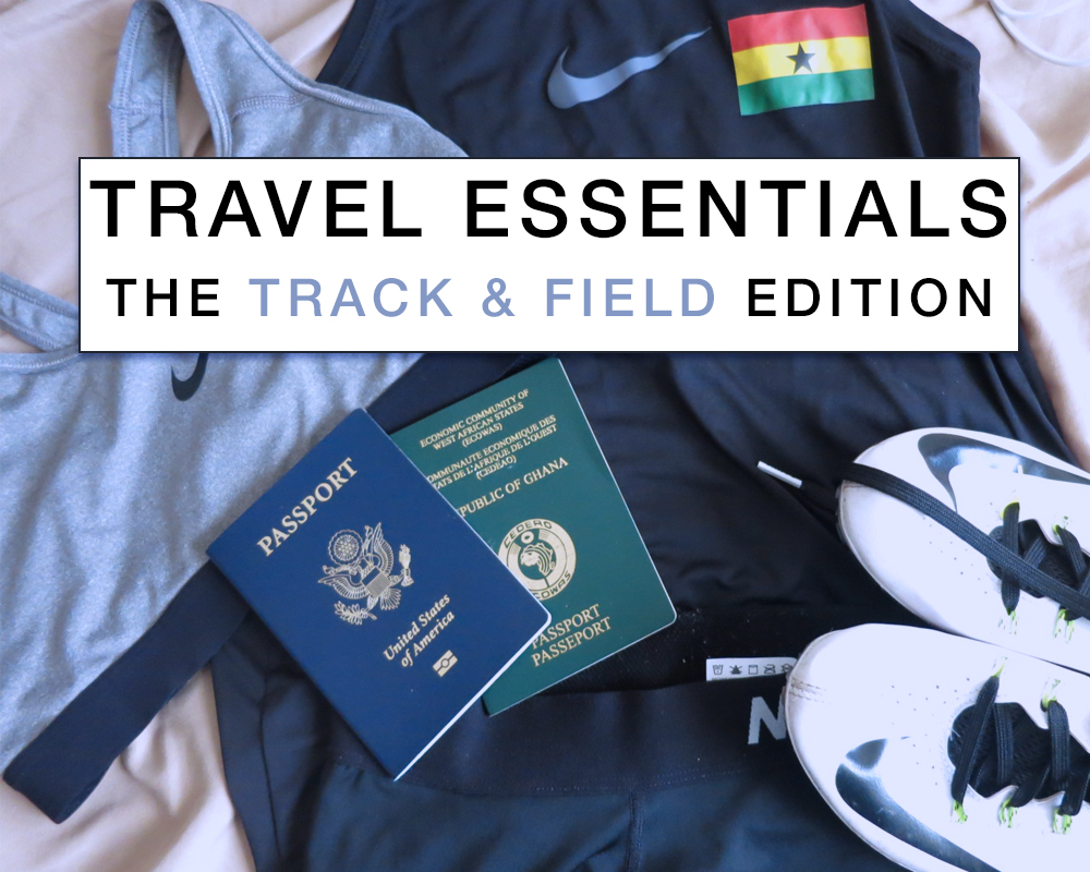 athlete travel essentials - actively gemma