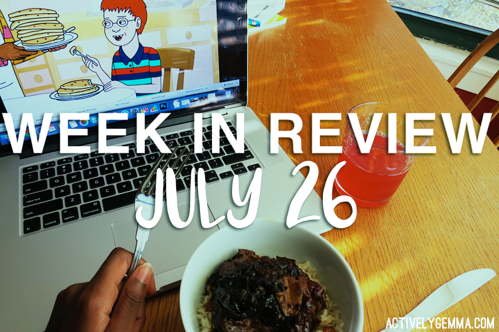 weekly review_july 26 - actively gemma