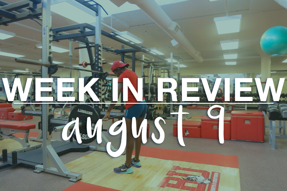 weekly workout review - actively gemma