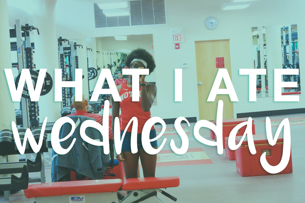 What I Ate Wednesday Aug. 18 - actively gemma