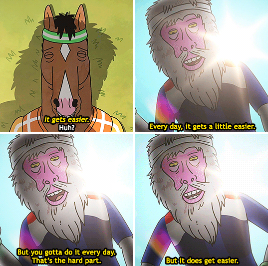 Bojack Horseman -  Netflix / Via   machinyan.tumblr.com