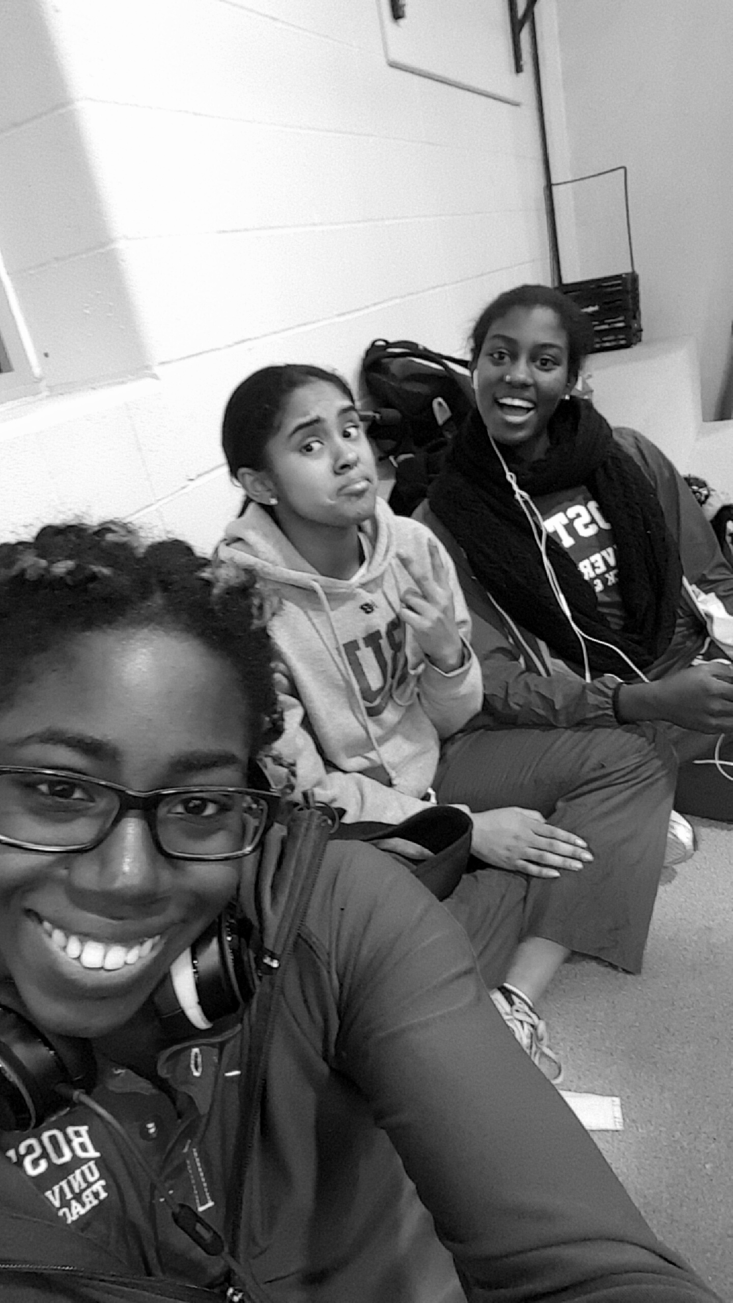 One of the best things about track and field:  The friends (ft.  Maya Marshall and Toria Levy)