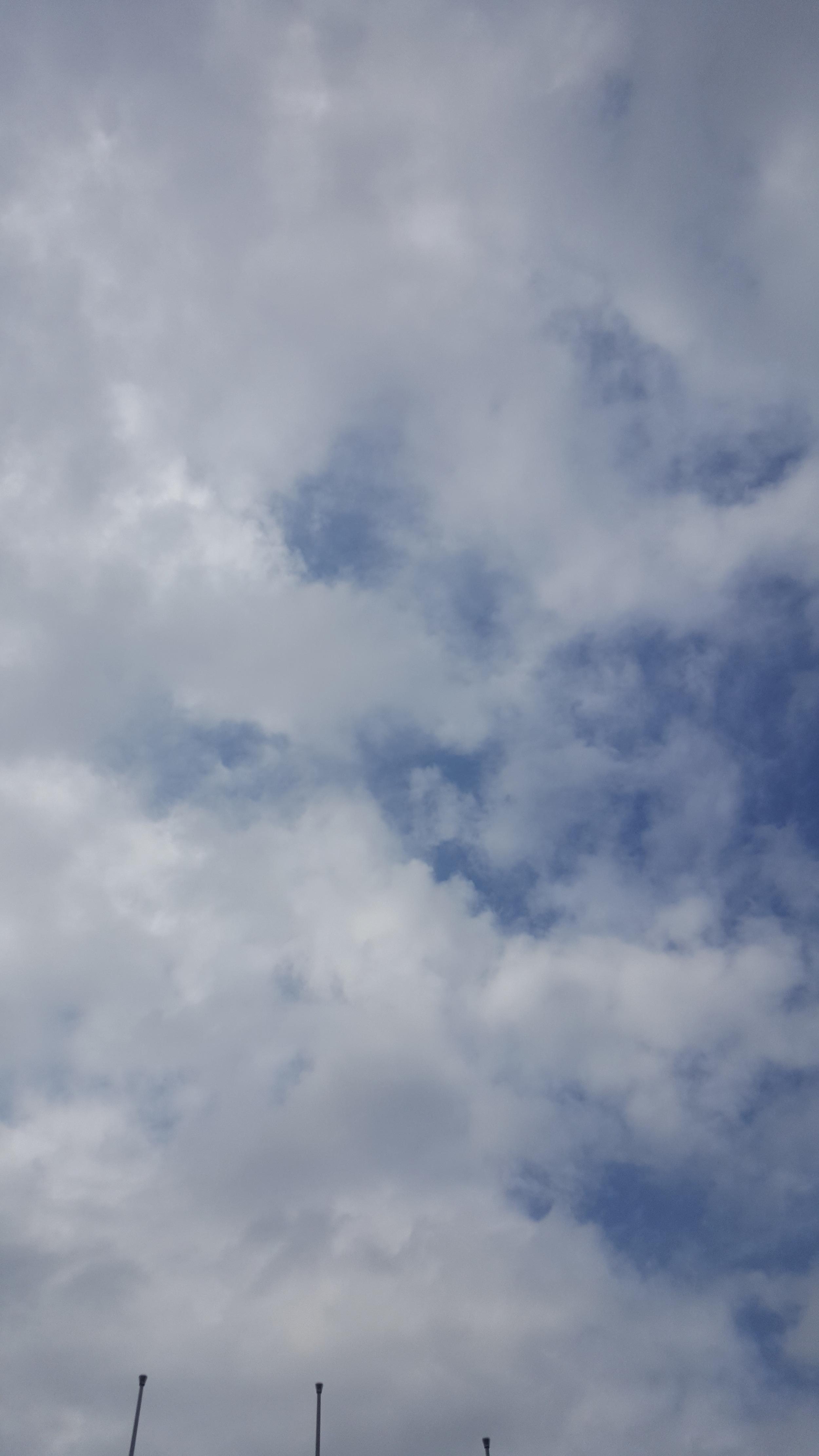 Clouds in Cape Coast