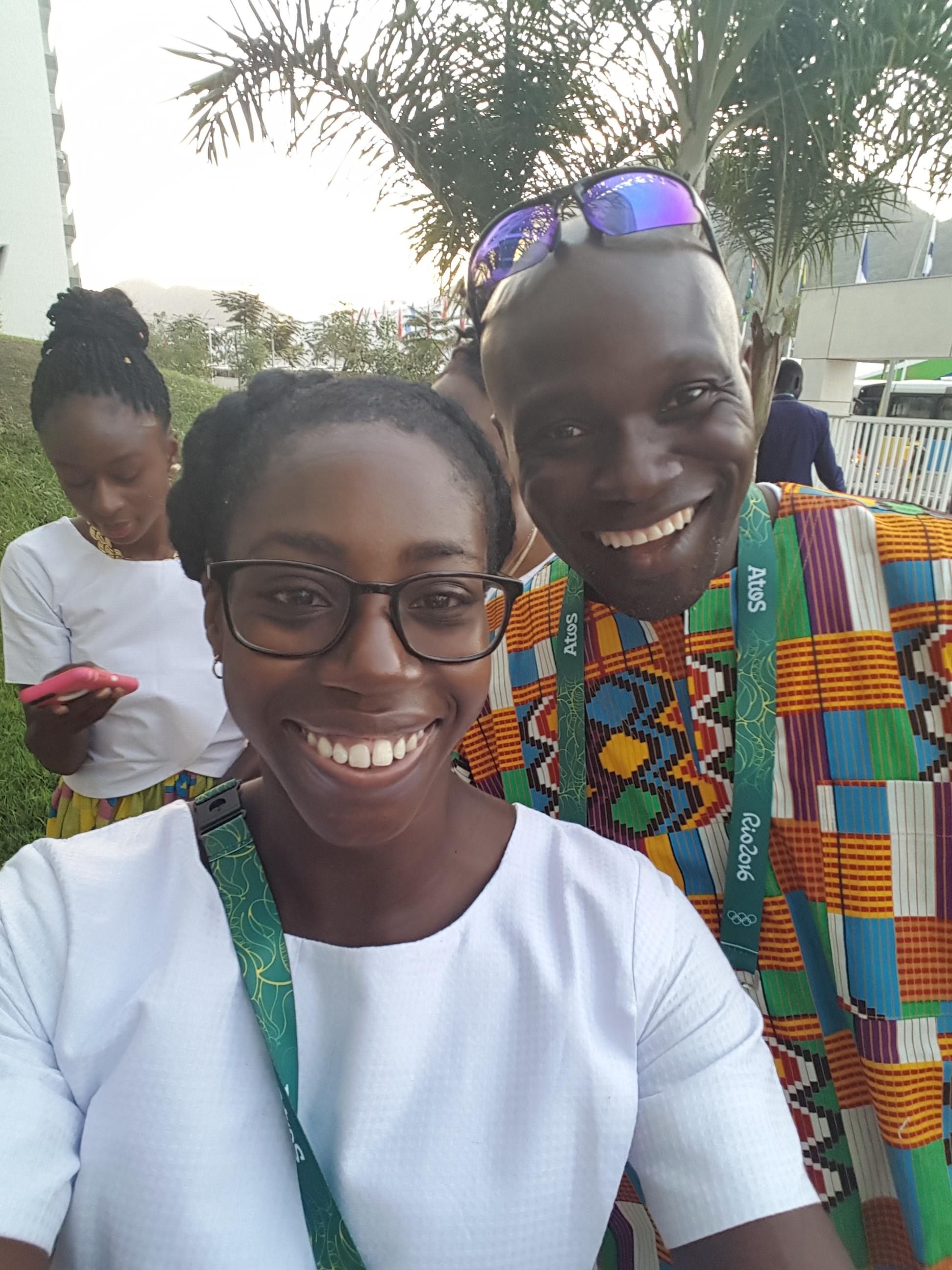 Andrew Owusu and I