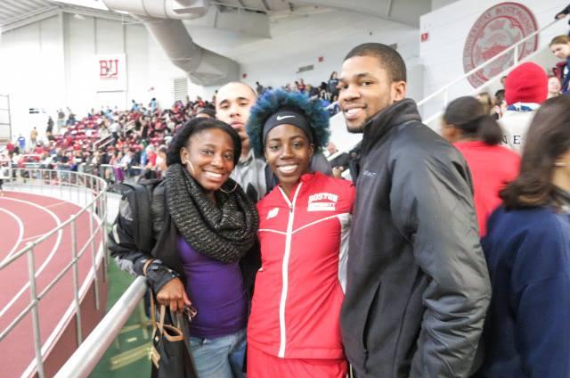Jennifer, Kenneth, Kevin, and I at the Valentine Invitational