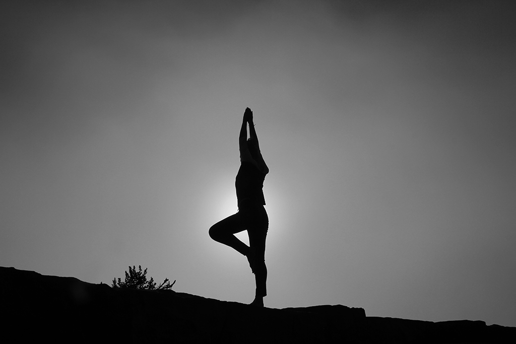 Being mindful by going to yoga