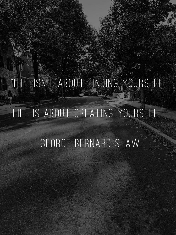 Monday motivation featuring George Bernard Shaw