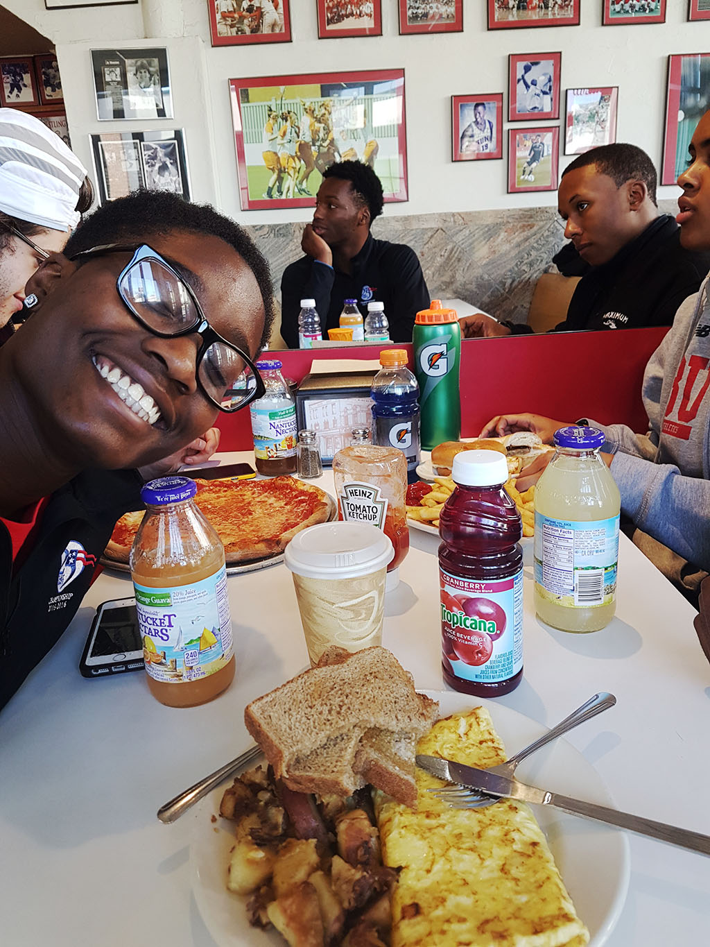 Boston University Track and Field Brunch featuring Djenne Parris
