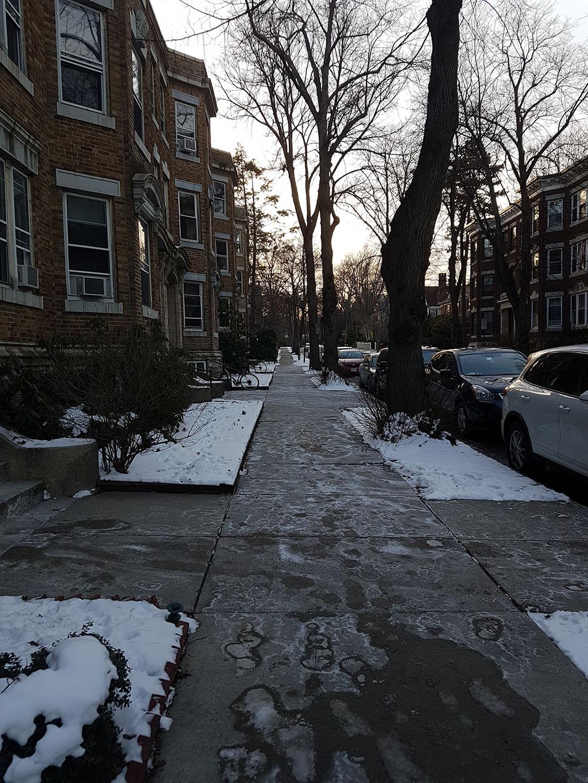 Boston Pre-Snowstorm