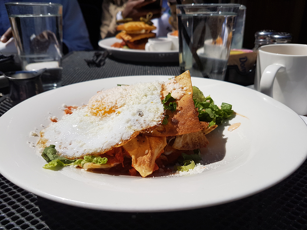 Chilaquiles from the 5 Horse Tavern in Boston