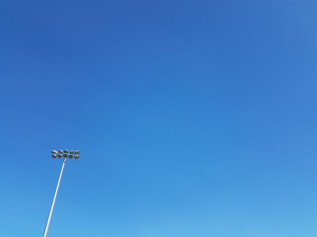 - the sky was so clear i just had to take a shot of it