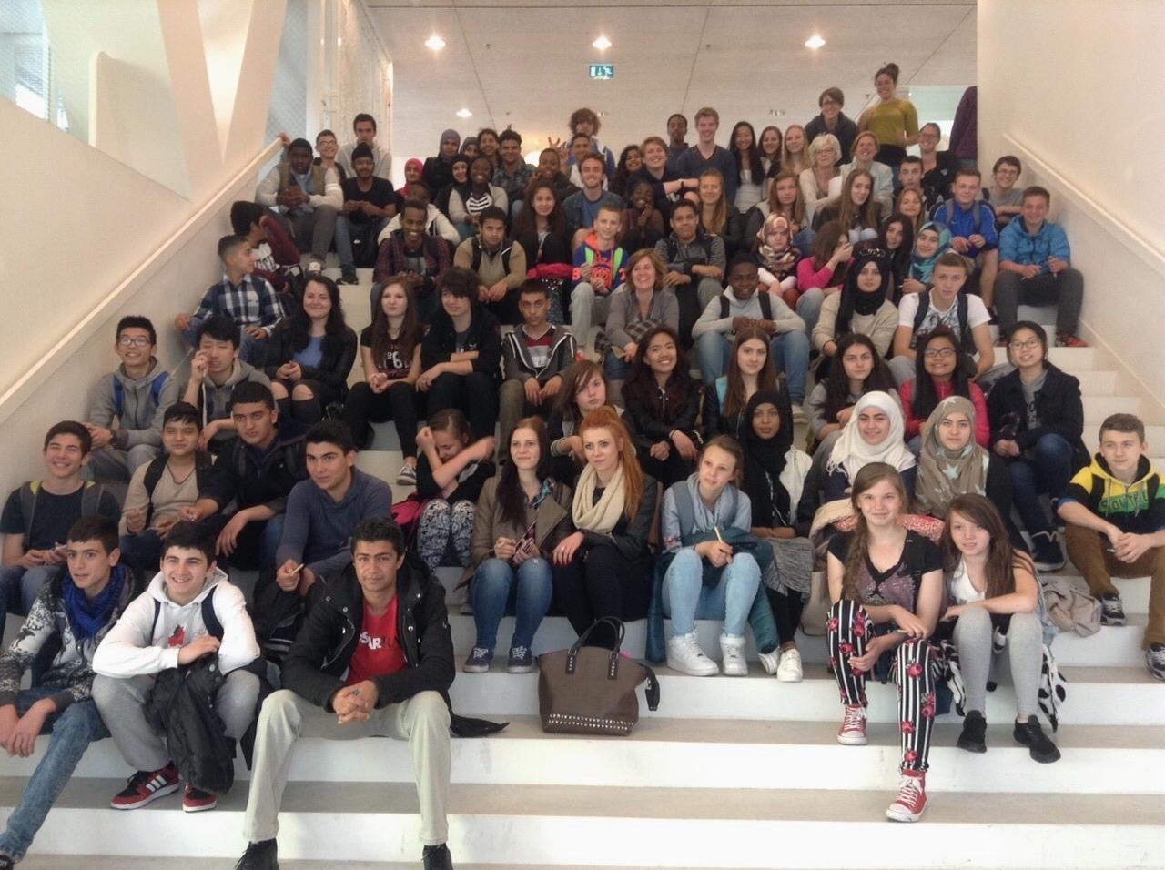 Students from Johan de Witt visit LUC.