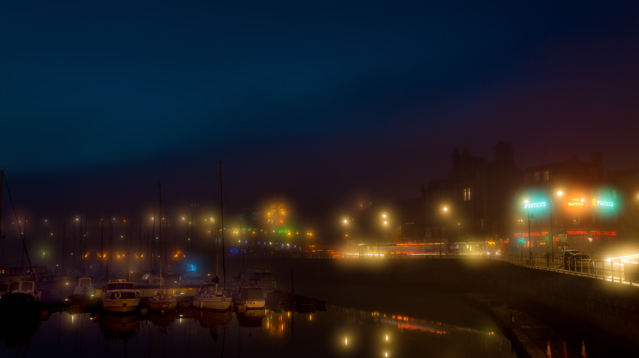 Ramsgate Harbour in the Fog