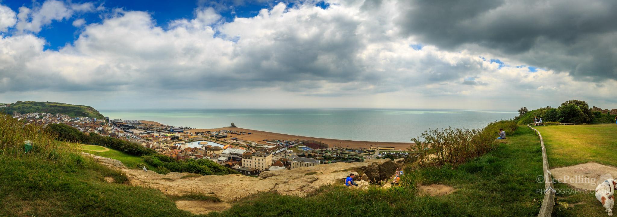 Hastings Clifftop Pano