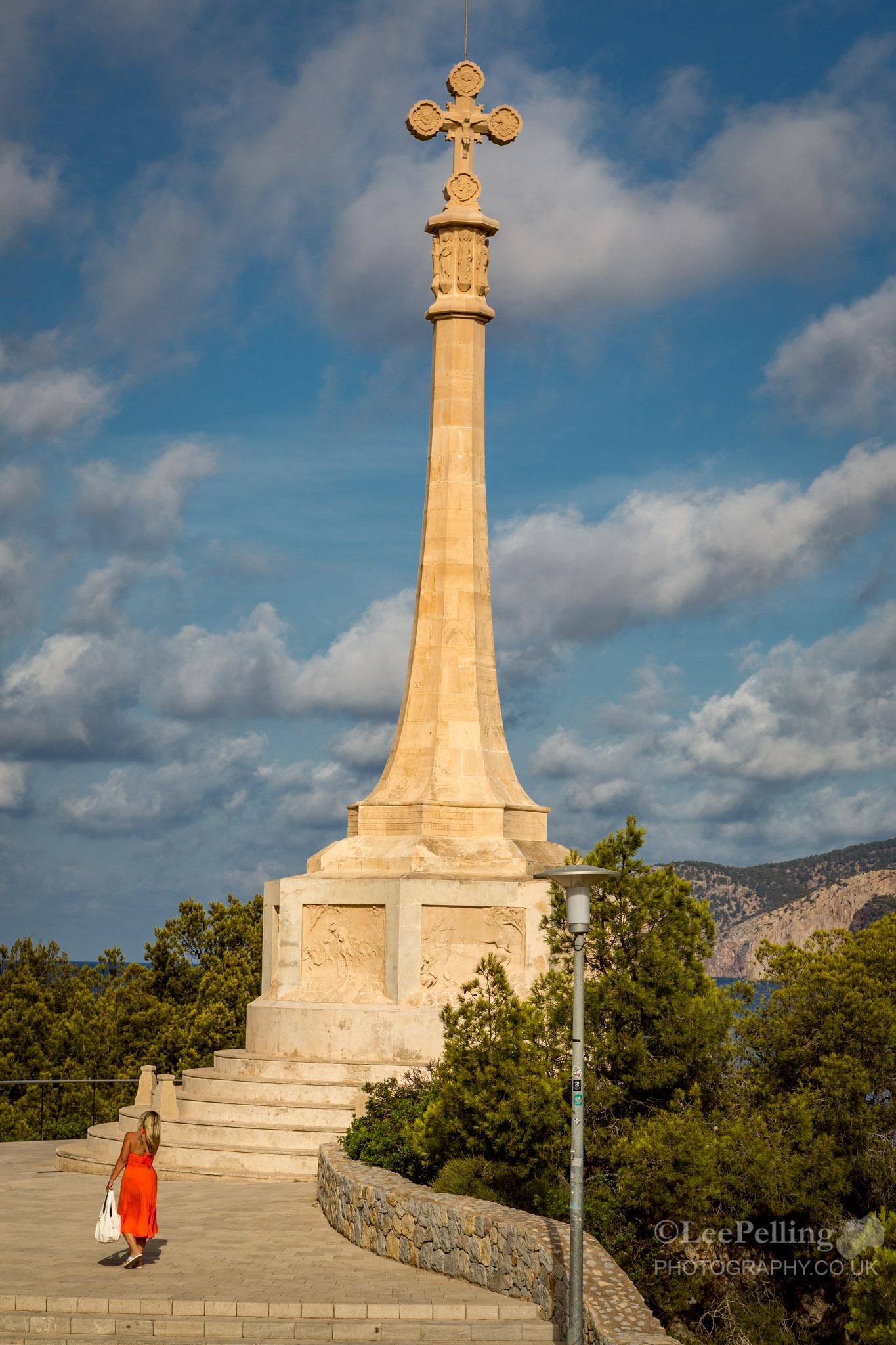 Deb at Monument