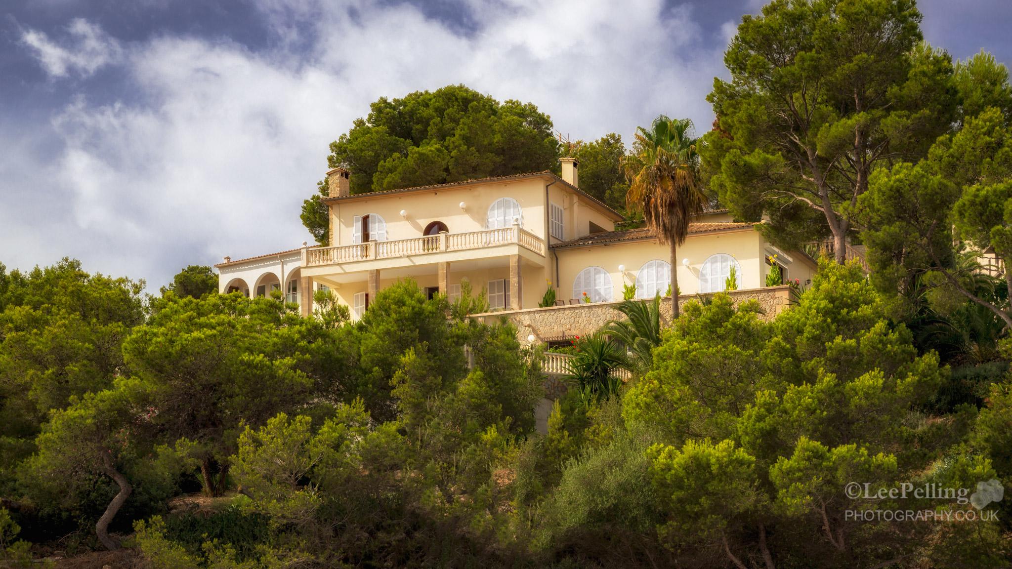 Villa over Santa Ponsa Harbour