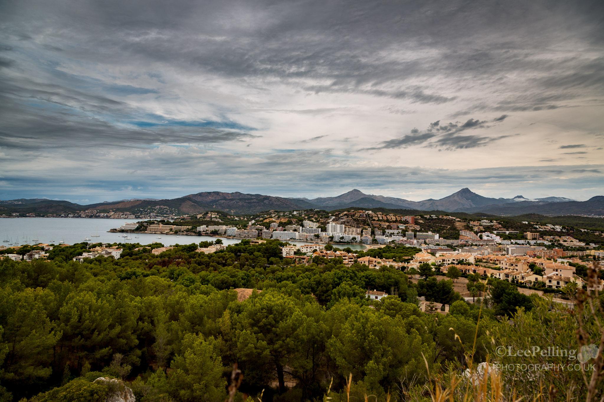 Overlooking Santa Ponsa