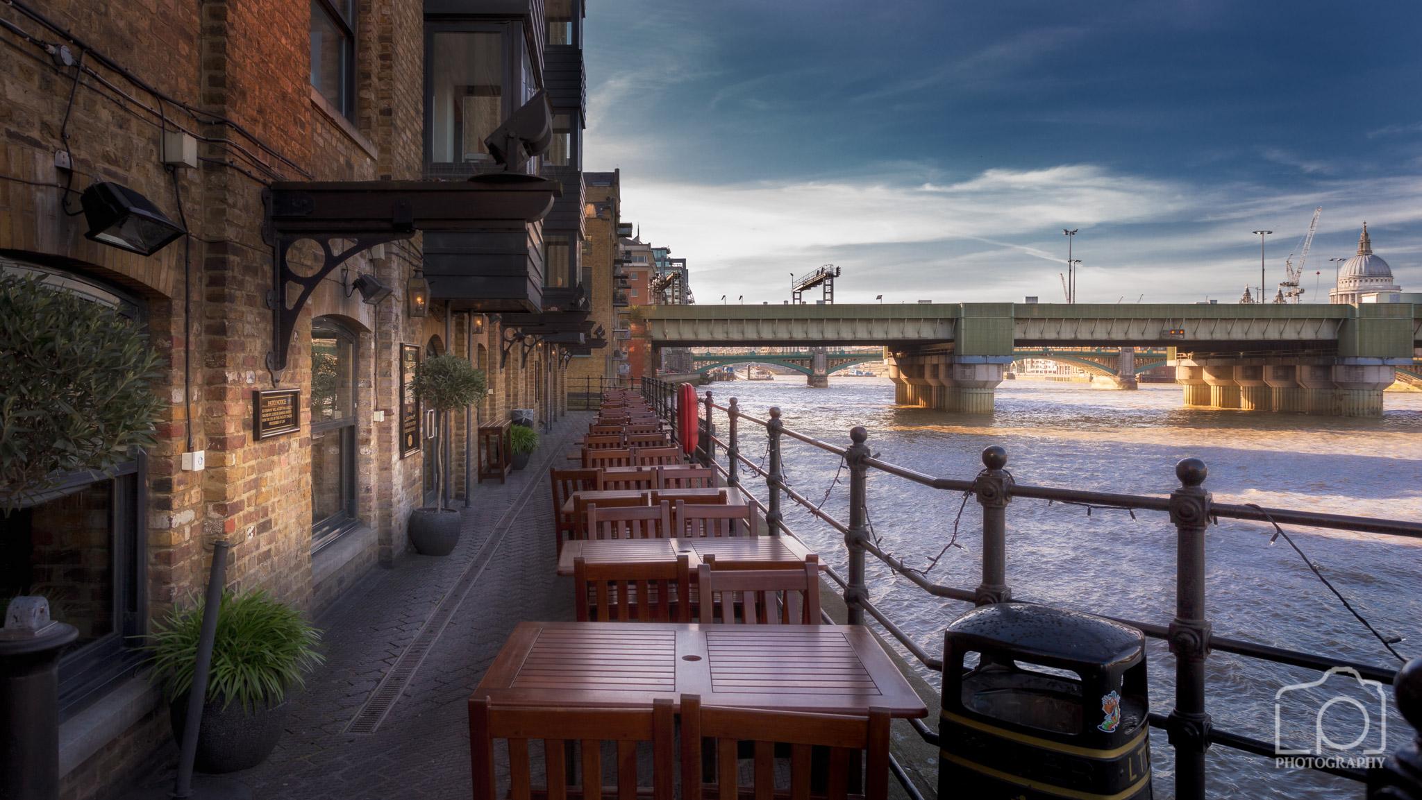 Riverside Pub Lunch