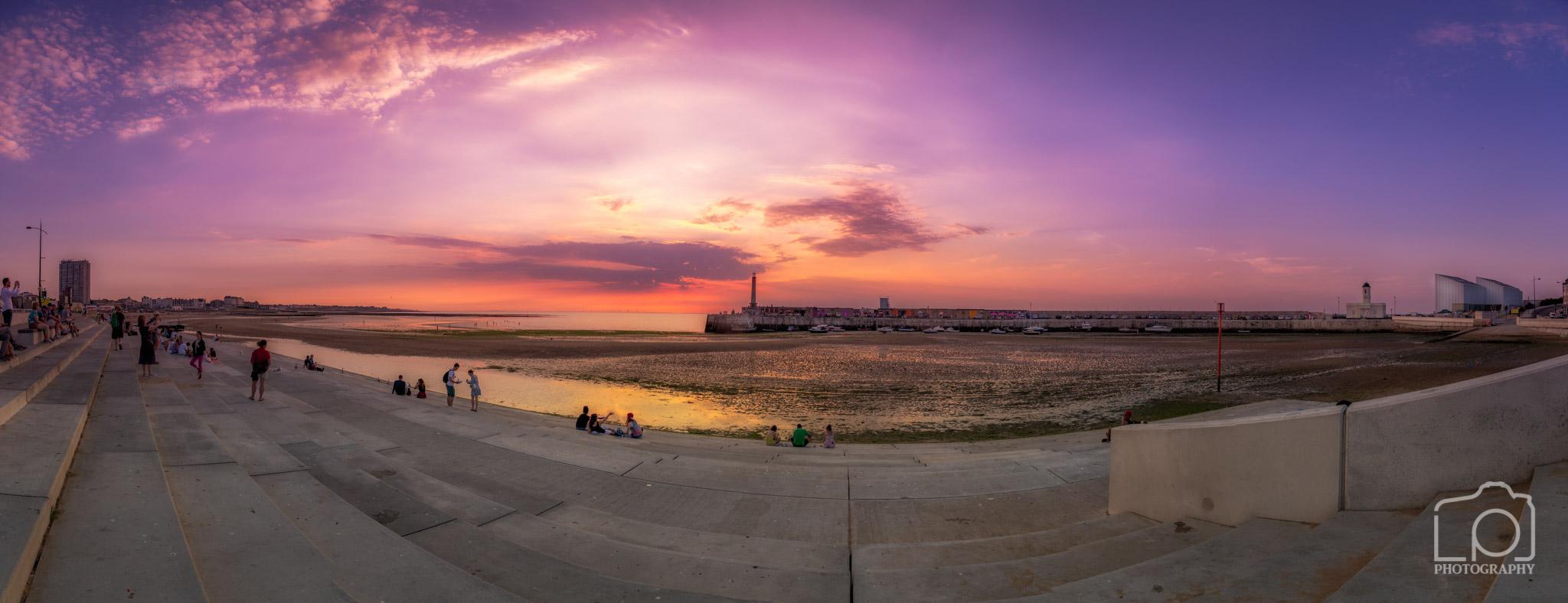 Margate Sunset Panorama