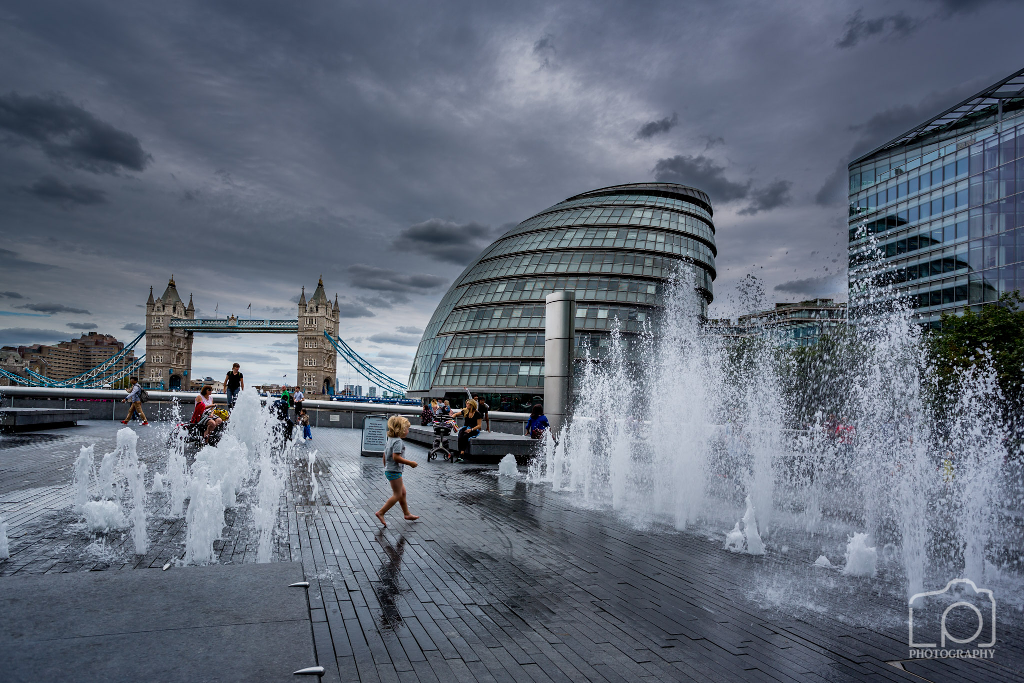 Tower Bridge and City Hall - 9438