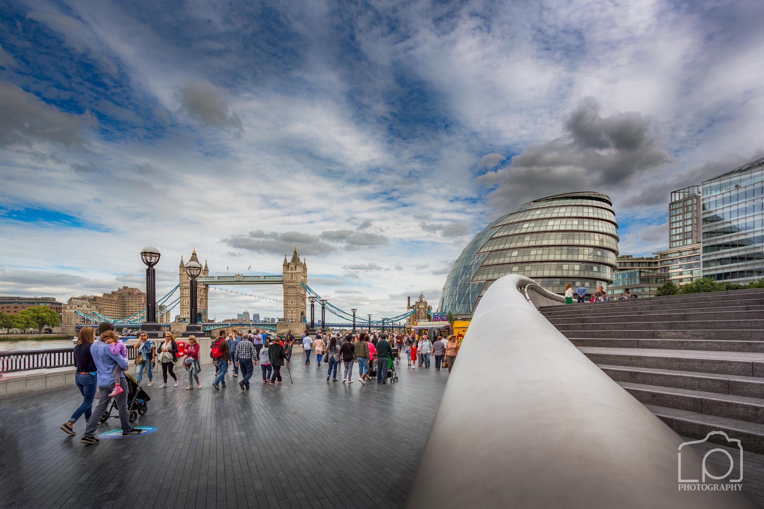 Tower Bridge and City Hall - 9431