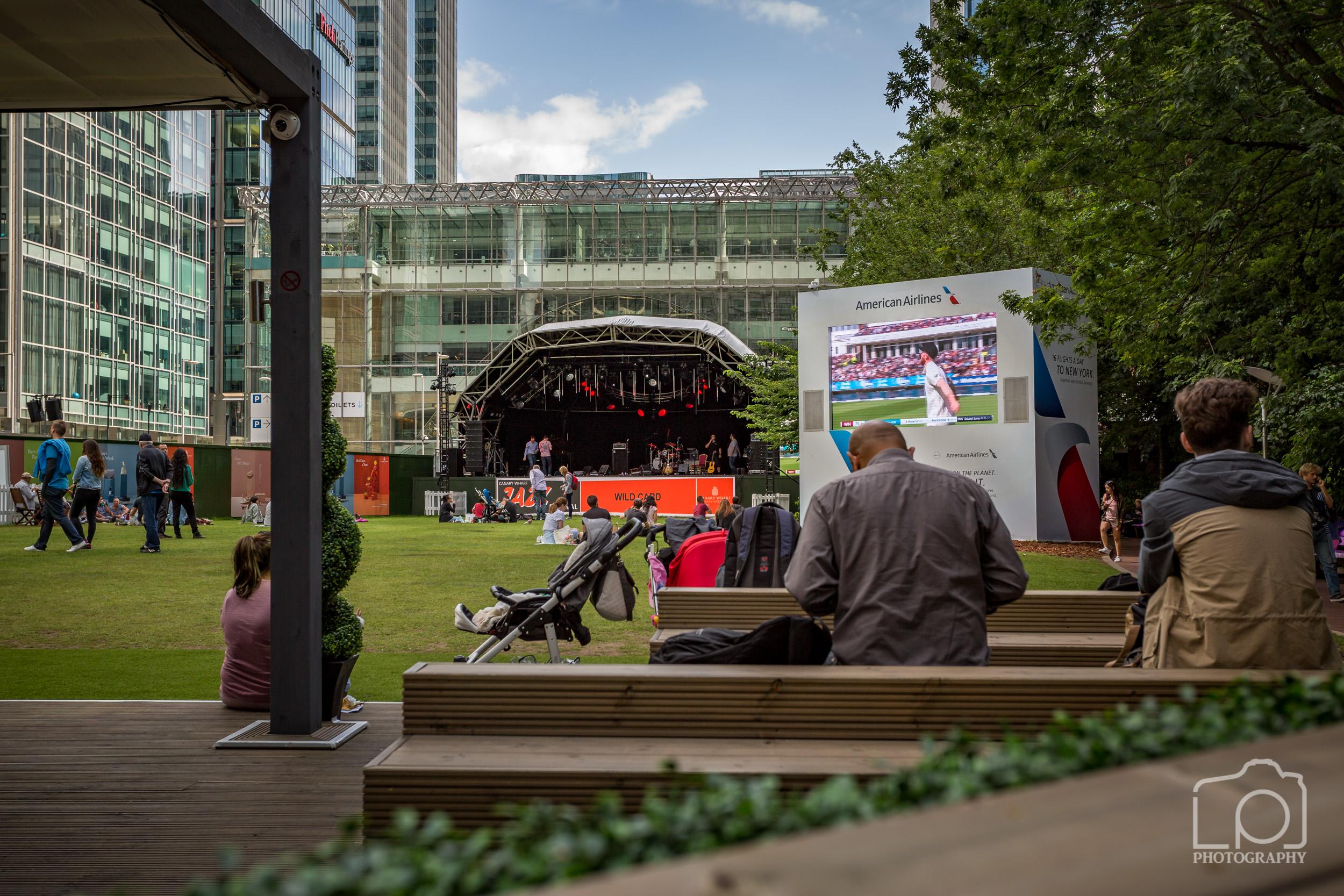 Canary Wharf Jaz Festival - 9344