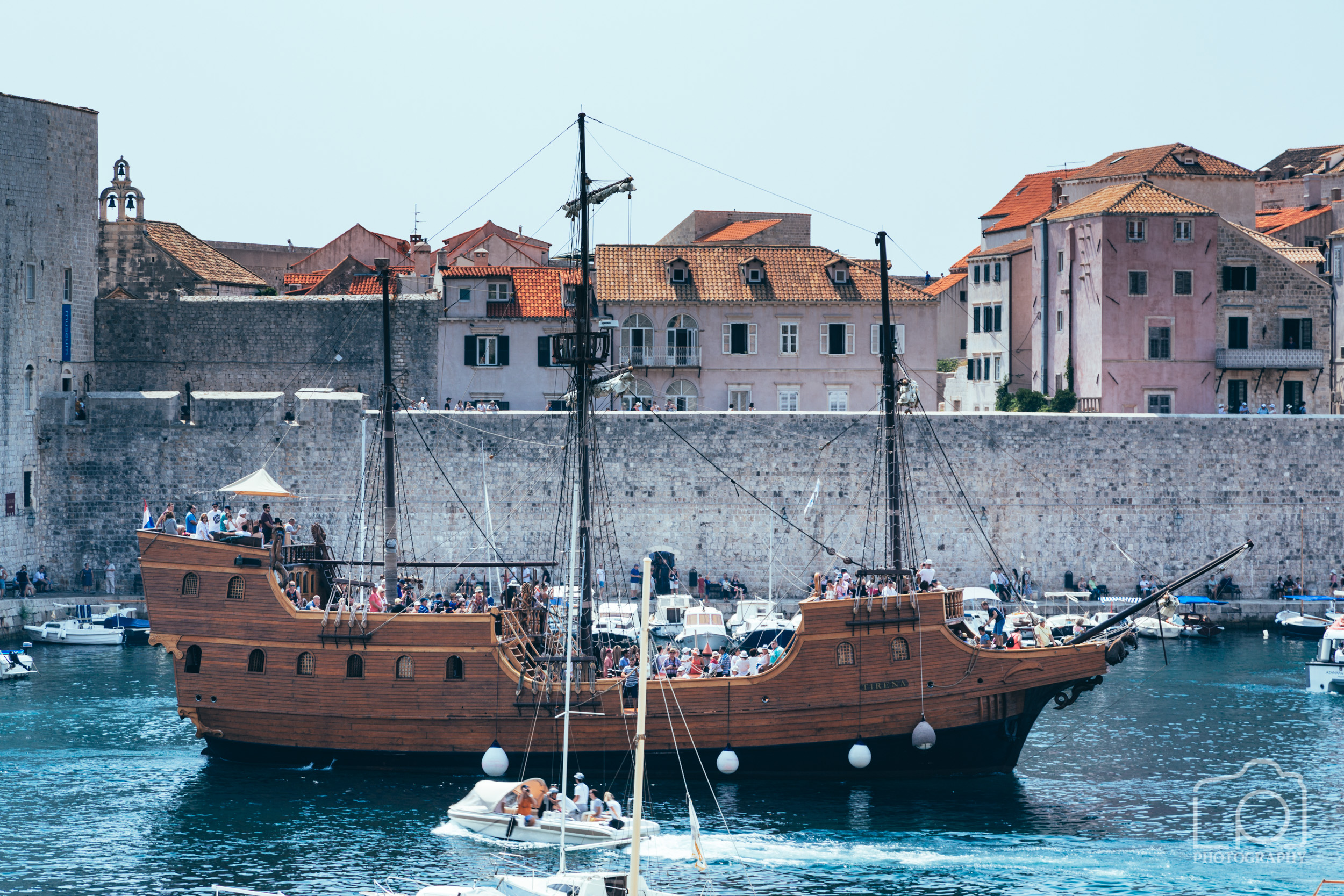 Dubrovnik Harbour - 9542