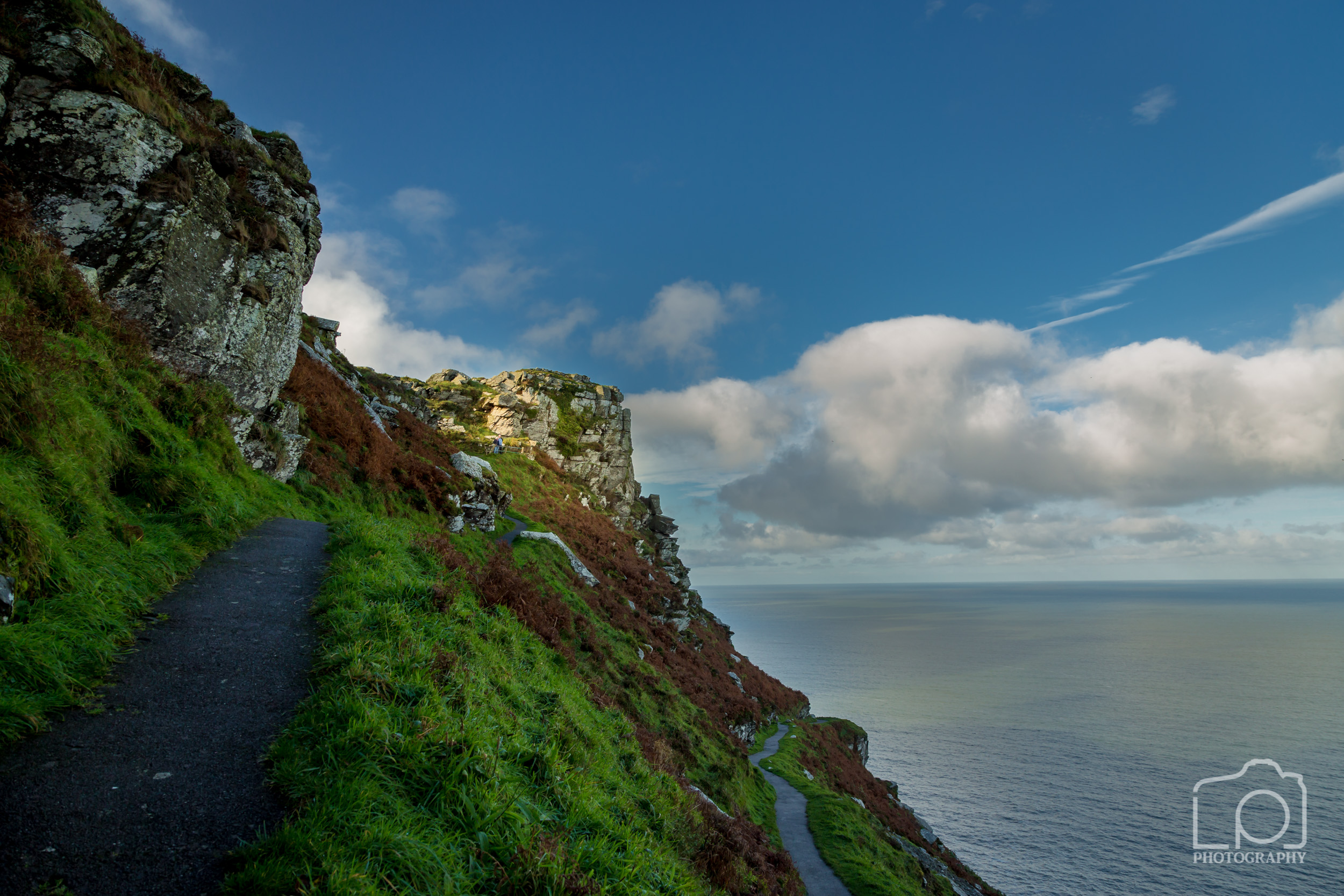 Coastal Footpath from Lynton to Valley of the Rocks