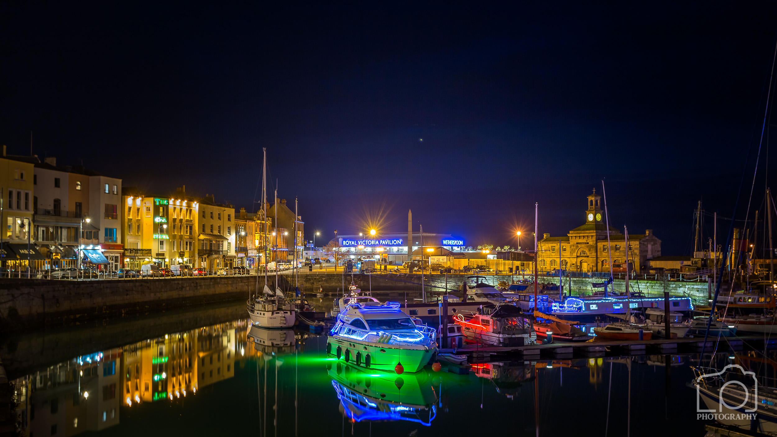 Ramsgate Royal Harbour Christmas Lights - 0806