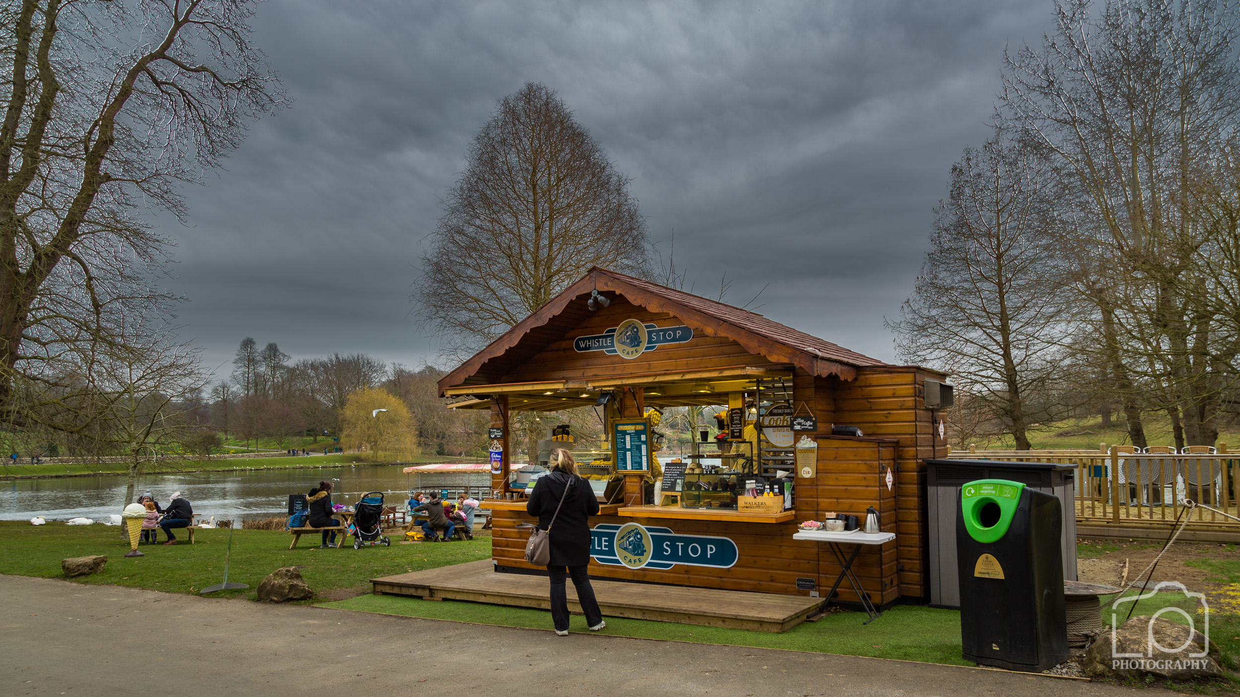 Leeds Castle Whistle Stop Cafe - 1249