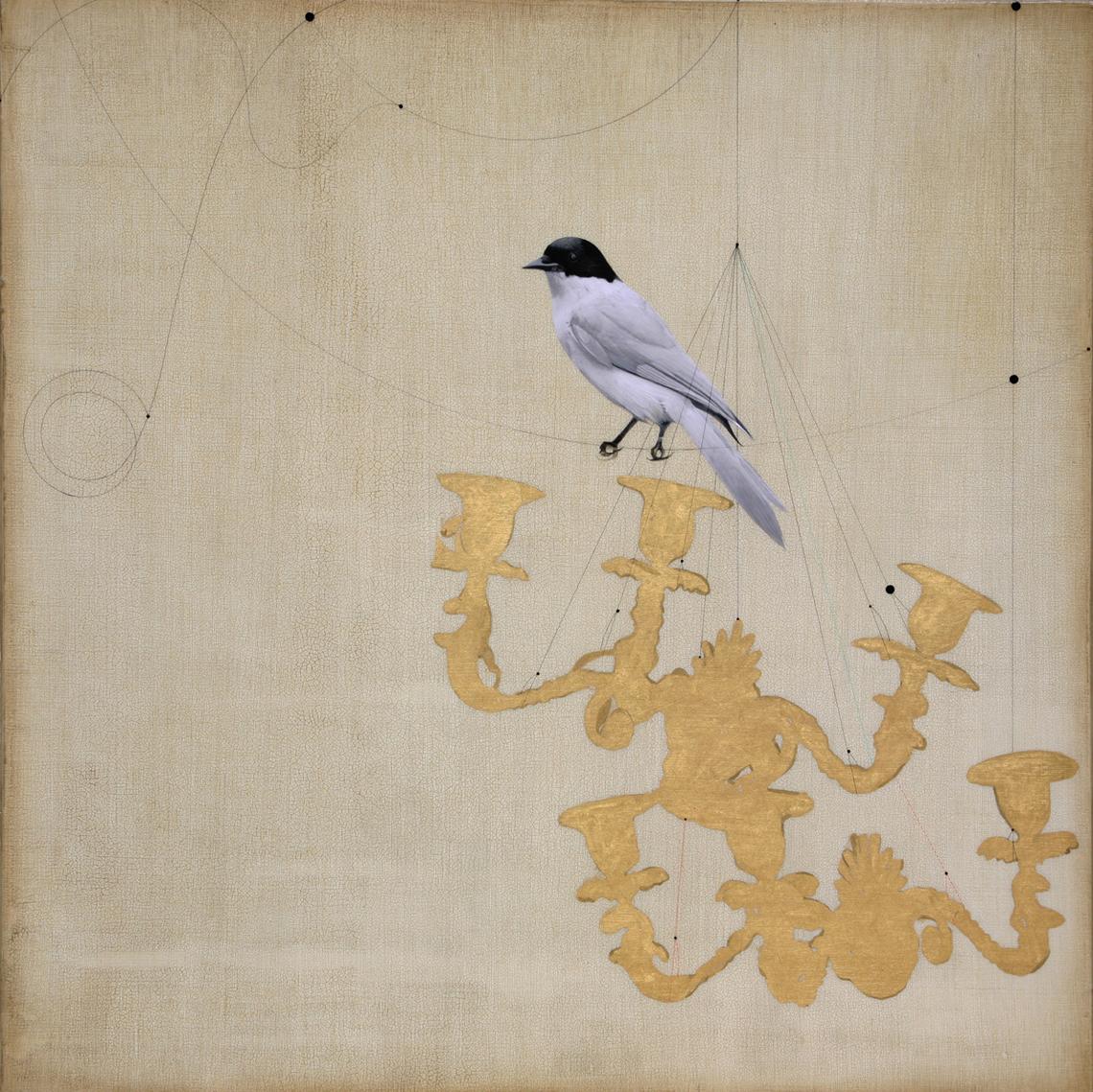 Bird and Chandelier #101