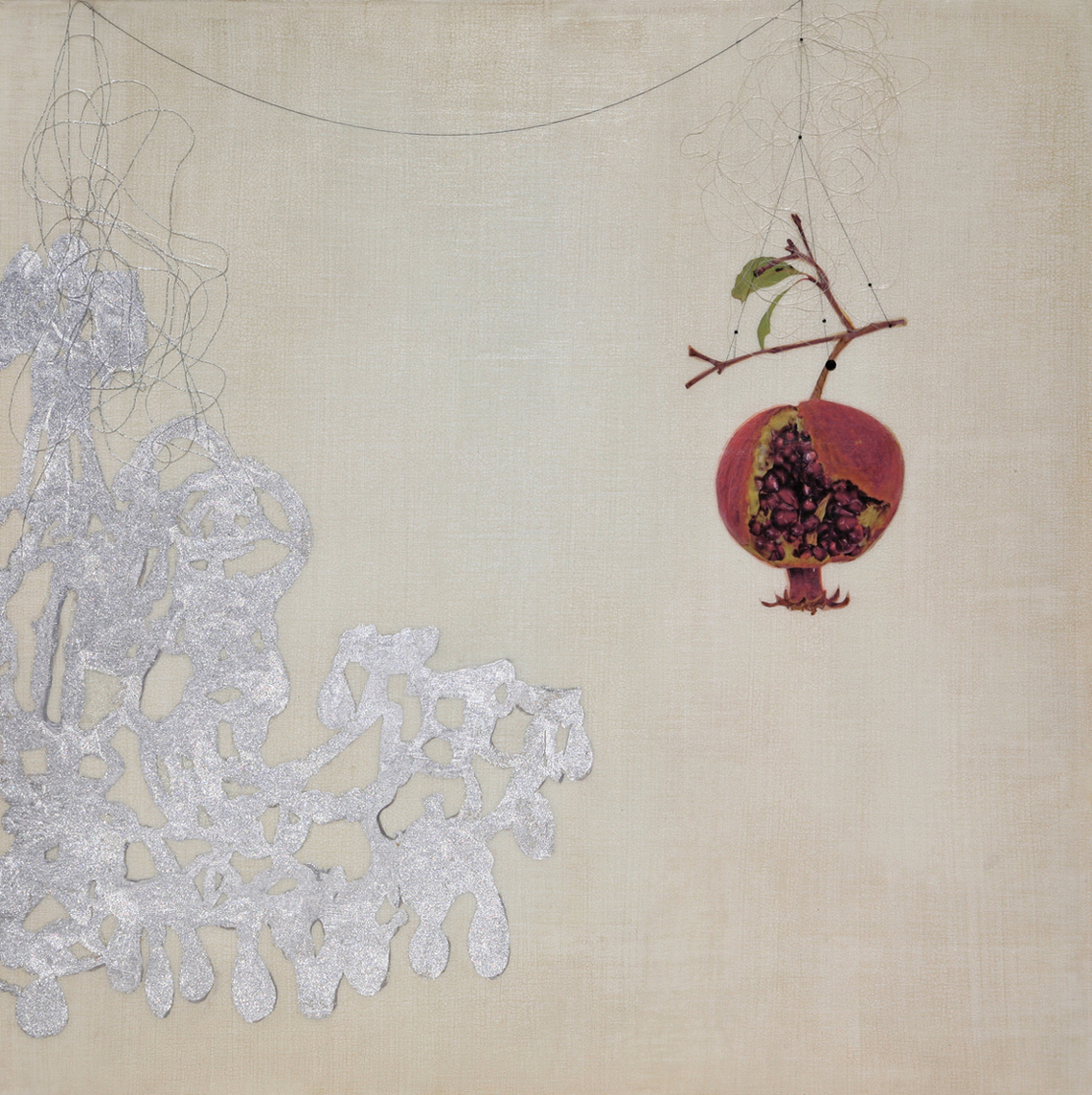 Pomegranate and Chandelier